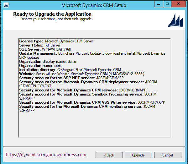 Windows Server 2012 - CRM12