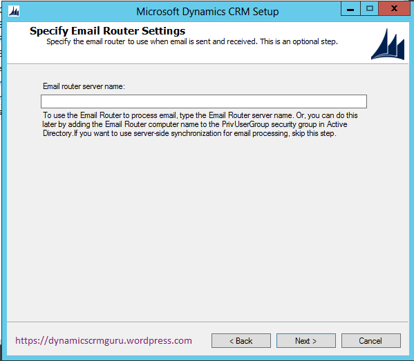 Windows Server 2012 - CRM8
