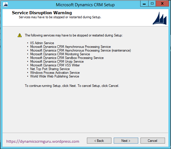 Windows Server 2012 - CRM11