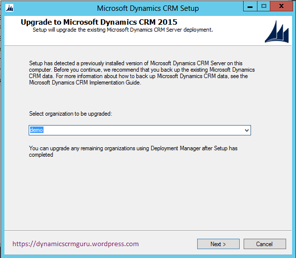 Windows Server 2012 - CRM6