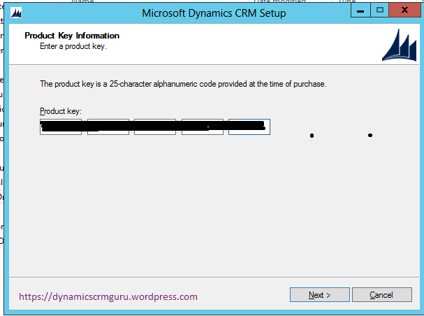Windows Server 2012 - CRM1