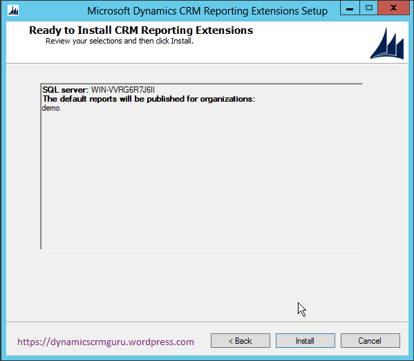 Windows Server 2012 - CRM22